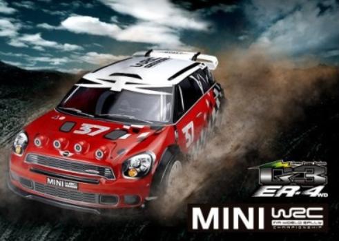 Thunder Tiger ER4 G3 2.4GHz 4WD Brushless Rally-Car RTR 1:8
