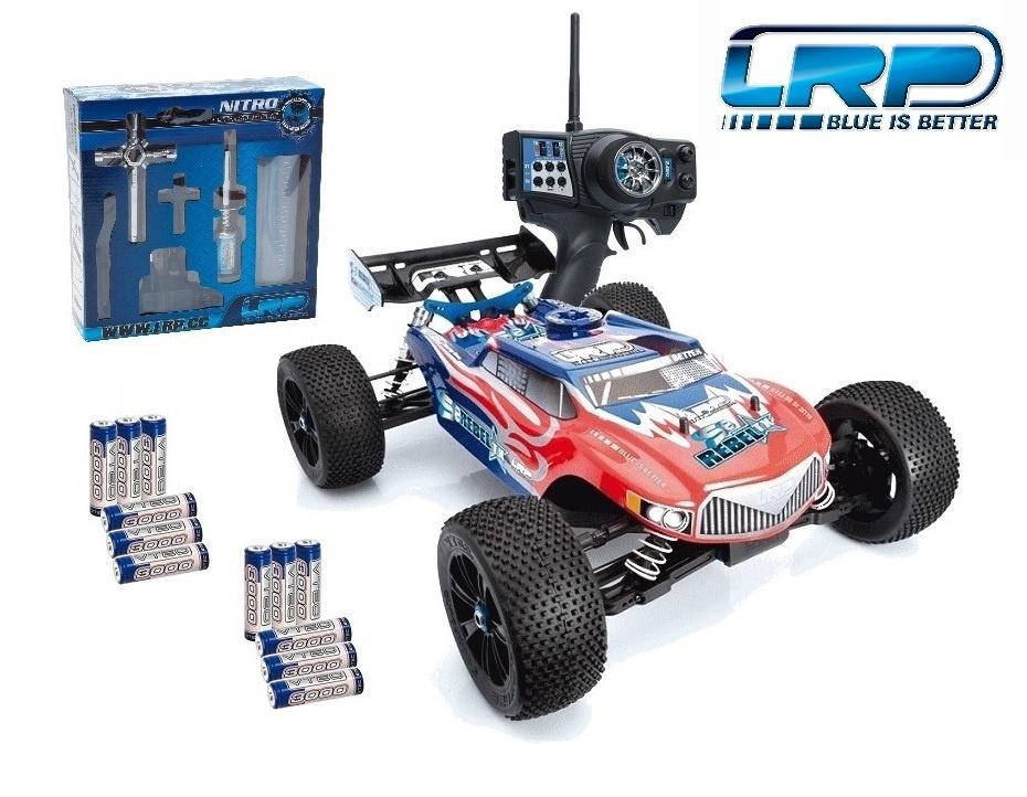LRP S8 Rebel TX 2.4GHz RTR 1/8 Verbrenner Truggy 2.4GHz