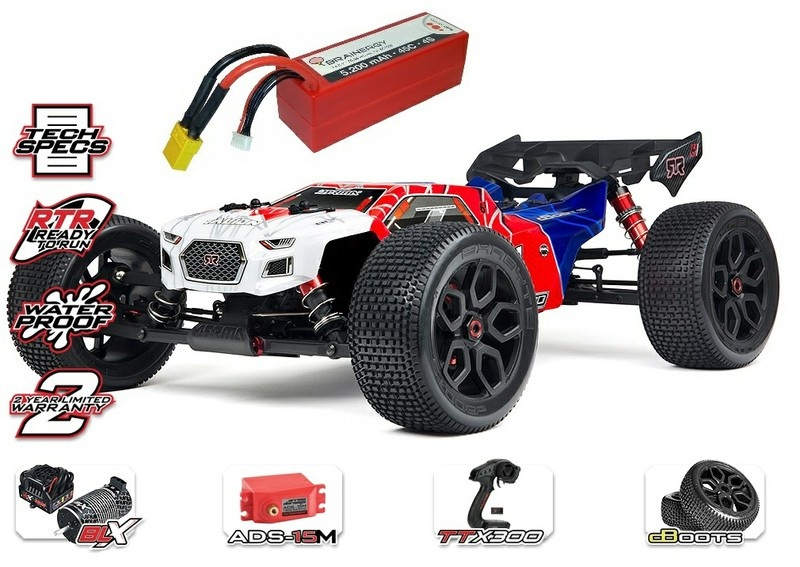Arrma Talion 6s BLX 4WD E-Speed Truggy 2.4GHz 1:8-SPARSET 1-
