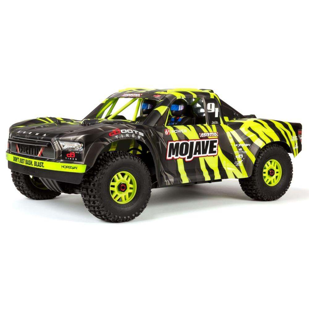 Arrma 1/7 MOJAVE 6S BLX 4WD Desert Racer with Spektrum RTR,