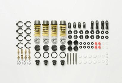 Tamiya TRF Öldruck-Stoßdämpfer-Set, 4 Stück