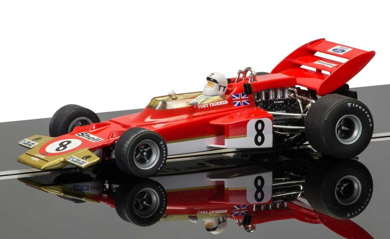 Scalextric Legends - Team Lotus 72 #8