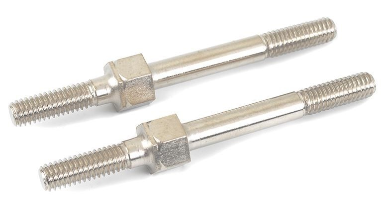 Team Corally Turnbuckle - M4 - 50mm - Spring Steel - 2 pcs