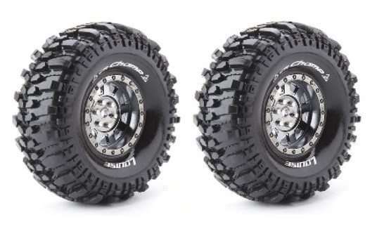 Louise RC CR-CHAMP Crawler Reifen 1:10 - Fertig Verklebt