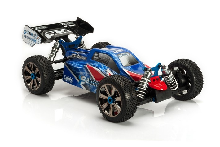LRP S8 Rebel BXE 4WD Offroad Elektro-Buggy 2.4GHz RTR 1:8