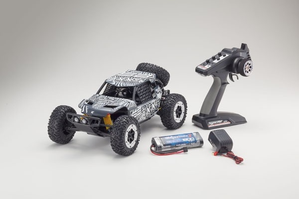 Kyosho AXXE EP 2WD Buggy (KT231P)-T4 grau RTR 1:10