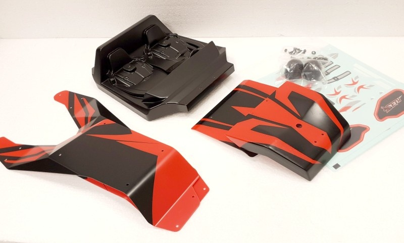 Team Magic Spare Part - SETH - Cabin and Panels - Red