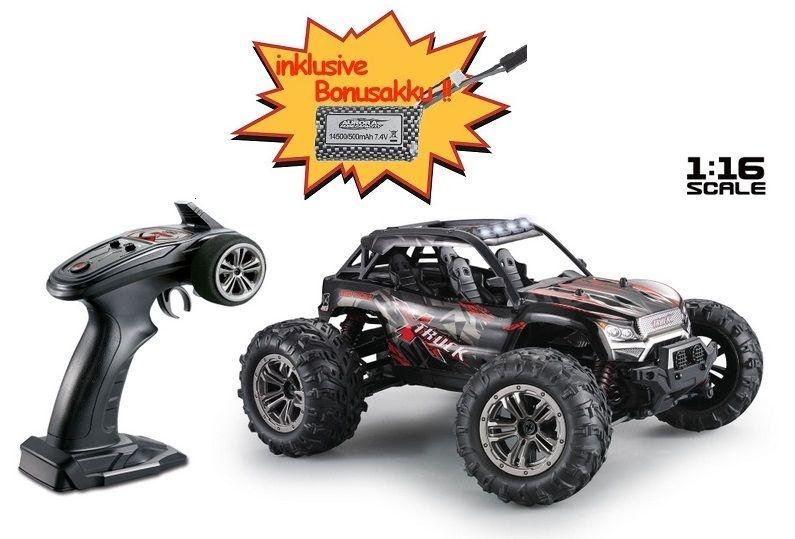 Absima High Speed Sand Buggy X TRUCK schwarz/rot