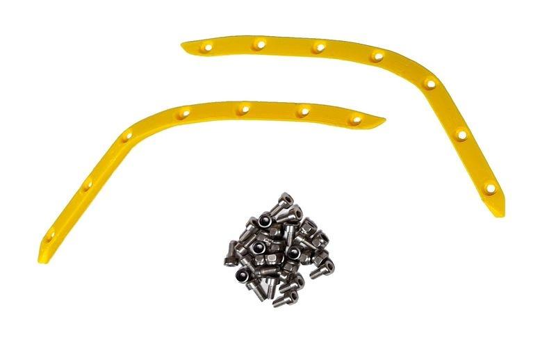 JS-Parts ultraflex Fender hinten gelb