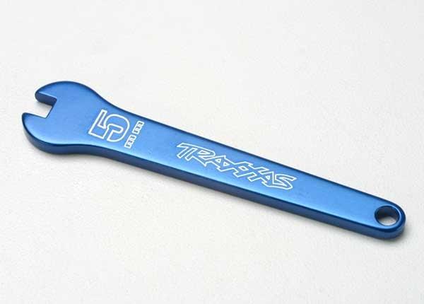 Traxxas Gabelschlüssel, 5mm (blue-anodized aluminum)