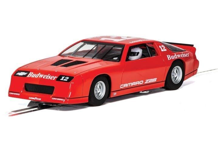 Scalextric 1:32 Chevrolet Camaro IROC-Z Rot HD