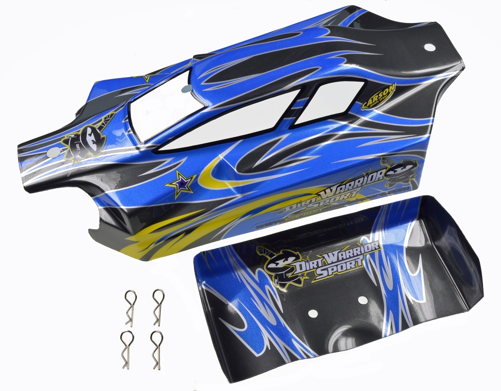 Carson X10EB Dirtwarr.Sport Karosserie+Spoiler
