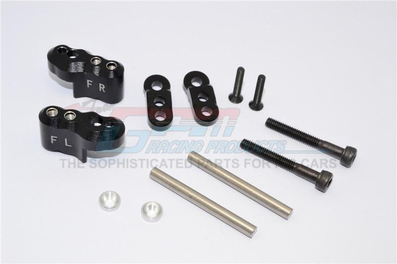 GPM aluminium front adjustable shock mount - 1 Set for