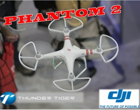 Thunder Tiger DJI PHANTOM 2 VISION Propeller Protektoren Set