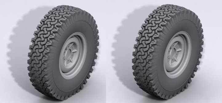 RC4WD Dirt Grabber 1.9 All Terrain Tires 1:10, 1 Paar