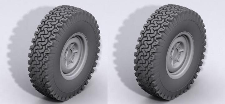 RC4WD Dirt Grabber 1.9 All Terrain Tires 1:10, 1 Paar