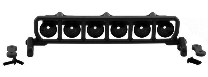 RPM Dachlichter-Galerie schwarz f. Traxxas Slash 1:10