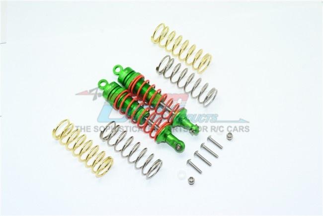 GPM aluminium front adjustable shocks 87MM - 14PC Set for