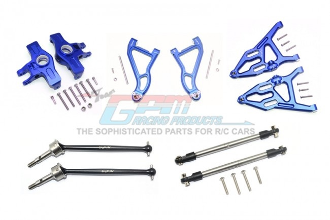 GPM aluminium upper&lower arms + knuckle arms + harden steel