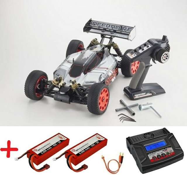 Kyosho Inferno VE Type 2 Readyset EP RTR 1:8 --SPARSET 2--