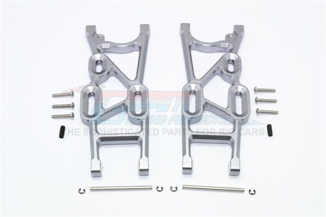 GPM aluminium rear lower arms - 16PC Set for Thunder Tiger