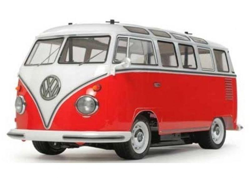Tamiya RC VW Bus Type2 Lack. (T1) (M-06) Bausatz 1:10