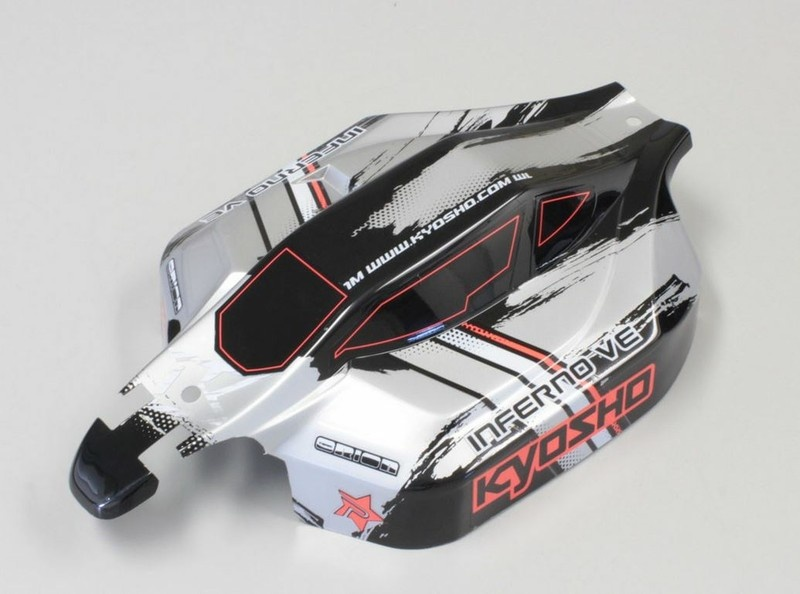 Kyosho Karosserie INFERNO VE TYPE2 (lackiert) 1:8