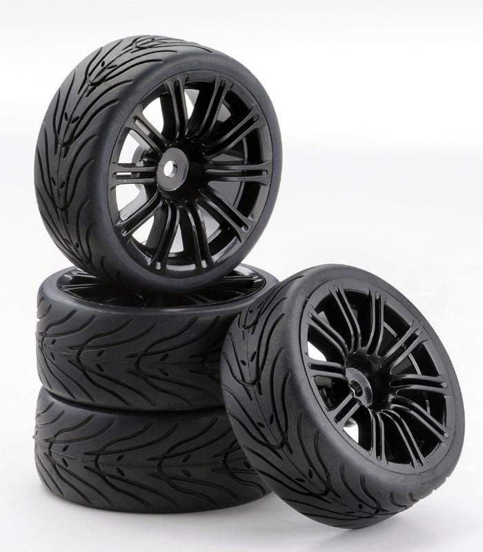 Carson SC-Räder M Style schwarz, 4 Stück