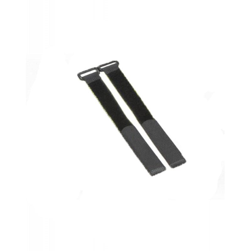 Flexytub Klettband Nylon 27cm x2cm schwarz (2 Stück)