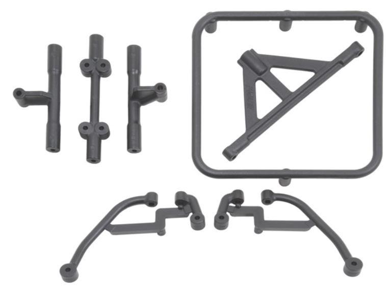 RPM Reserveradhalter schwarz Traxxas Slash 2WD + 4x4