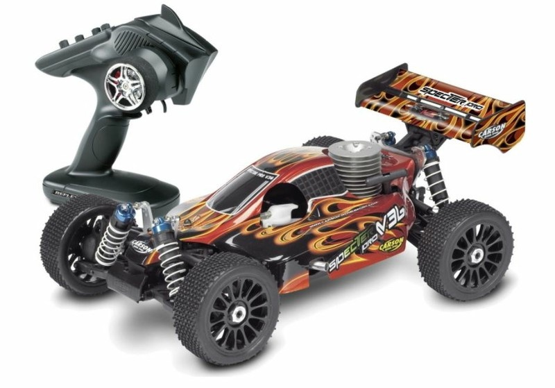 Carson Specter II Pro V36 4WD Nitro-Buggy 2.4GHz RTR 1:8