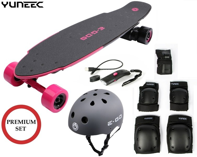 Yuneec E-GO 2 E-Board (Hot Pink) --SPARSET 1--