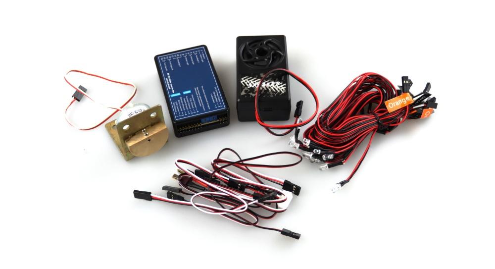 Amewi Truck Beleuchtung und Sound- Vibrationssystem