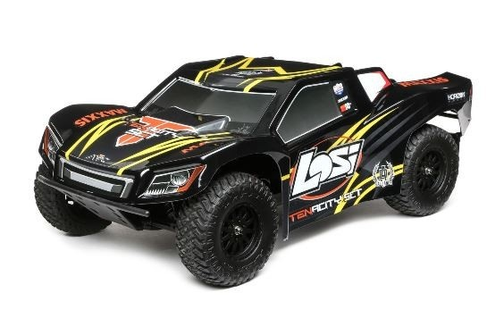 Losi Tenacity 4WD SC Truck Brushless AVC schwarz /gelb