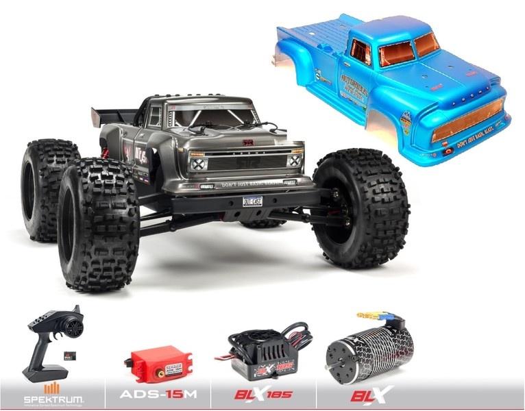 Arrma 1/8 OUTCAST V4 6S BLX 4WD Brushless Stunt Truck RTR,