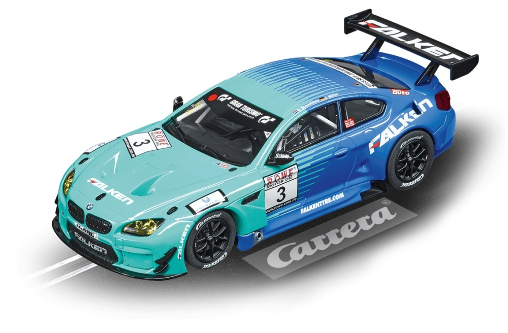 Carrera Digital 132 BMW M6 GT3 Team Falken, No.3