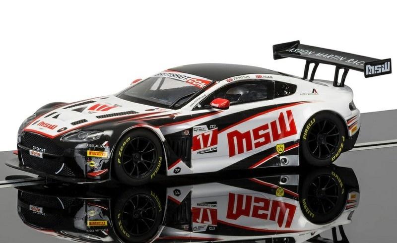Scalextric Aston Martin Vantage GT3 #17 MSW HD