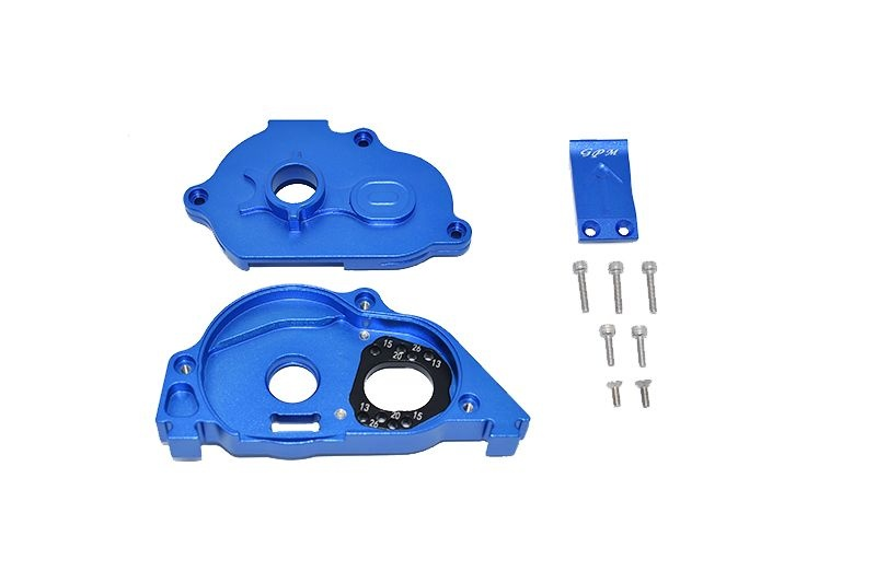 GPM Aluminum Rear Gear Protection Motor Mount - 10PC Set for