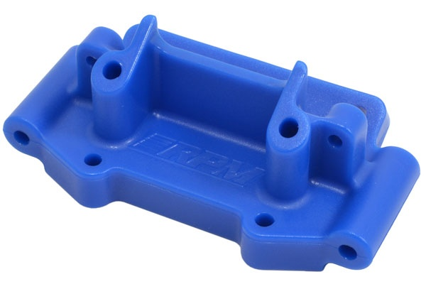 RPM Bulkhead vorn blau Traxxas 1:10 2WD Modelle