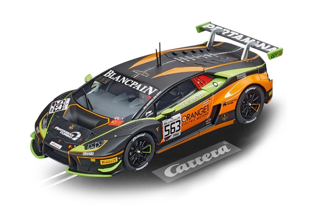 Carrera Digital 132 Lamborghini Huracán Orange1 FFF Racing