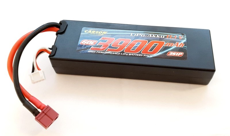 Carson LiPo 3s 11,1V 3900 mAh 60C 3S1P High Performance