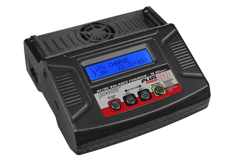 RC Plus RC-CHA-212 Plus Power 80 AC/DC Lader 7A 80W