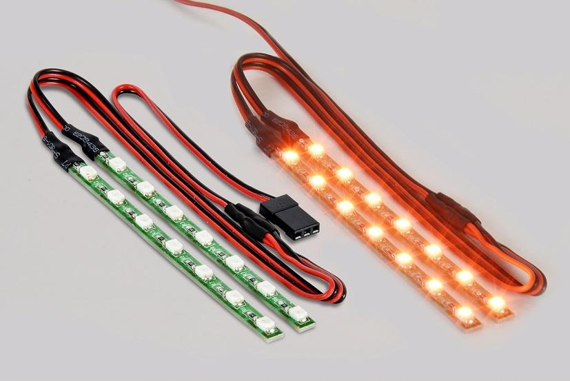 Auslauf - Carson LED Lichtstab Set orange