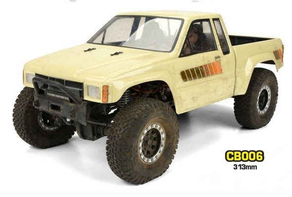 Absima Crawler Karosserie CB006 (313mm) 1:10