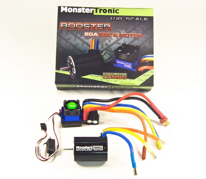 Monstertronic Brushless Combo Regler Motor6T 5900KV bis 3 S