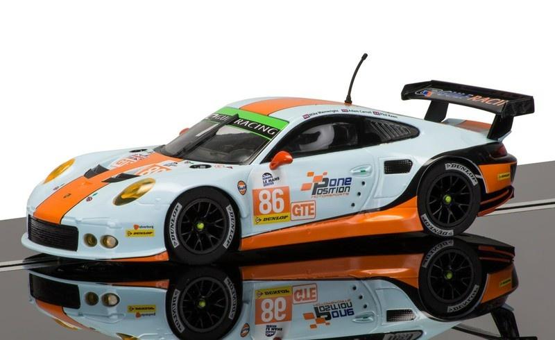 Scalextric Porsche 911 Gulf #86 ELMS Series