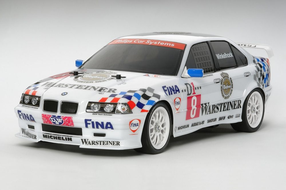 Tamiya BMW 318i STW TT01E Bausatz 1:10