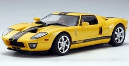 AutoArt Ford GT 2004 (gelb/schwarz)
