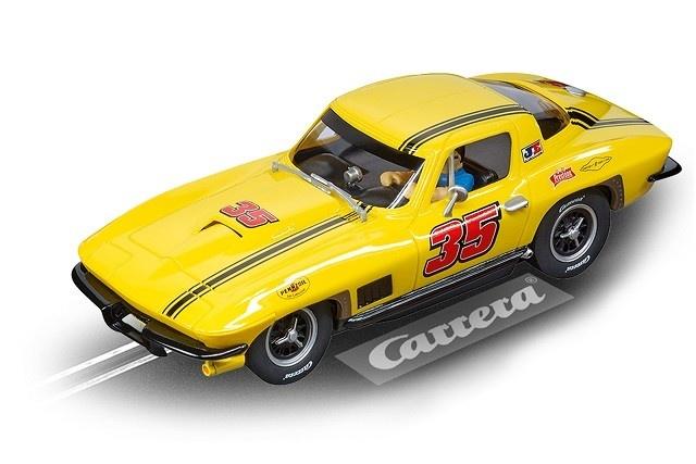 Carrera Evolution Chevrolet Corvette Sting Ray No.35