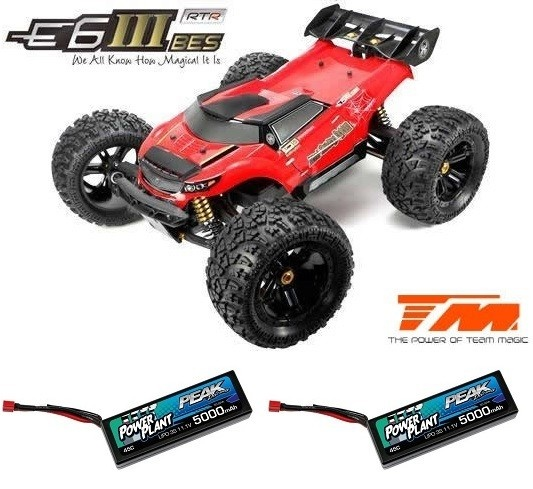 Team Magic E6 III BES 4WD Electric Monster Truck 2.4GHz
